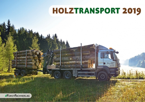 Kalender 2019: Holztransport