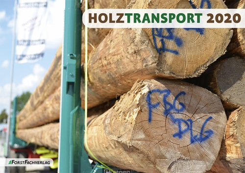 Kalender 2020: Holztransport