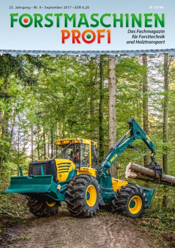 FORSTMASCHINEN-PROFI September 2017 (Einzelheft)